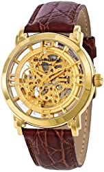 Stuhrling Original Men's 165.3335E31 Lifestyle 'Winchester' Automatic Skeleton Watch
