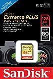 SanDisk Extreme Plus 128GB UHS-1/U3 SDXC Memory Card Up To 80MB/s, Frustration-Free- SDSDXS-128G-AFFP (Label May Change)