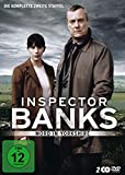 DVD Cover 'Inspector Banks - Mord in Yorkshire: Die komplette zweite Staffel [2 DVDs]