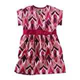 Tea Collection Girls Artisan Ikat Knot Dress