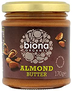 Biona Organic Almond Butter 170 g (Pack of 3)