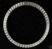 3 Pcs Fluted Bezel for Old Rolex Date, Airking S/S Part