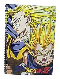 Great Eastern Entertainment Dragon Ball Z Super Saiyan Group Spiral Notebook