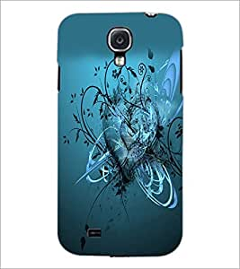 PrintDhaba Heart D-2166 Back Case Cover for SAMSUNG GALAXY S4 (Multi-Coloured)
