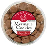 Miss Meringue Sugar Free Meringue Cookies, Chocolate, 3.3-Ounce Container