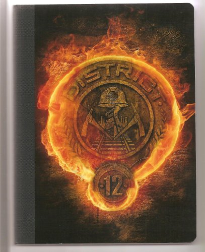 NECA The Hunger Games Movie Composition Book / Notebook 100 Sheet College Rule - District 12 Seal