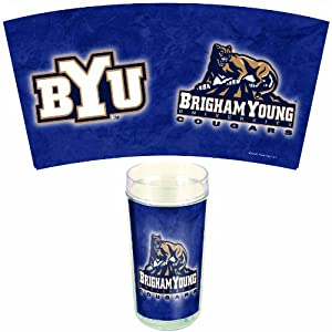 Buy NCAA Brigham Young Cougars 24-Ounce 2-Pack Tumblers by WinCraft