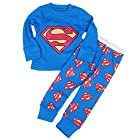 [LB]SupermanPajama Set 100% Cotton Long Sleeve G7120T4