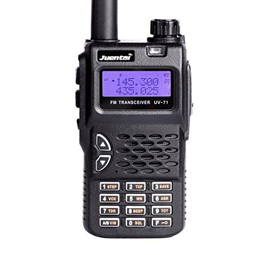 JUENTAI JT-UV71 Dual-band 136-174/400-520 Mhz Dual PTT DTMF CTCSS/DCS Fm Ham Dual Band Two Way Radios