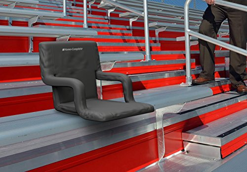 Deluxe Wide Stadium Seats Chairs For Bleachers Or Benches