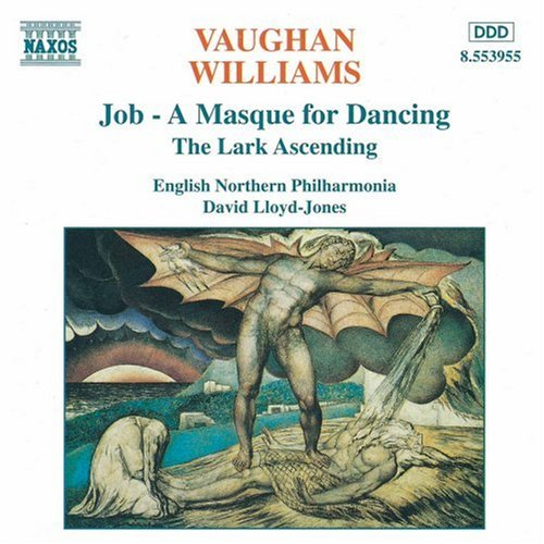 Vaughan Williams: Lark Ascending; Job by Ralph Vaughan Williams, David Lloyd-Jones and English Northern Philharmonia