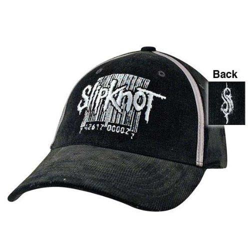 slipknot barcode logo. Slipknot - Barcode Cord Fitted Baseball Cap