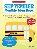 img - for September Monthly Idea Book: Ready-to-Use Templates, Activities, Management Tools, and More - for Every Day of the Month by Karen Sevaly (2013-01-01) book / textbook / text book