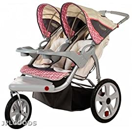 New InSTEP Grand Safari Swivel Wheel Jogger - Double AR284