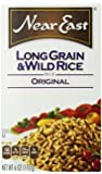 Near East Long Grain & Wild Rice Pilaf Mix, 6 -Ounce Boxes (Pack of 12)