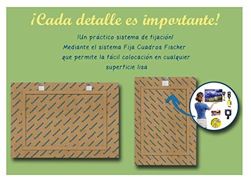Pictuland - Cuadro Impreso en Alta Resolucion directamente en fibra de madera reciclada, Foto Flor, Medidas: 30cm x 21cm, acabado: Brillo