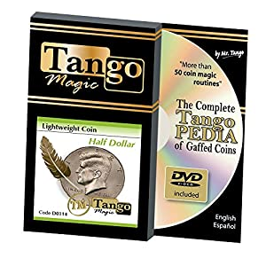 MMS Lightweight Half Dollar (with DVD) (D0114) by Tango - Trick