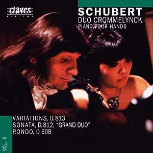 "Schubert F : Variations, D813, Sonata, D812 ""Grand Duo"", Rondo, D608"