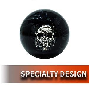 Speed Dawg Black Pearl Skull Shift Knob