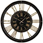 Sterling 130-002 PU/Glass Clock with...