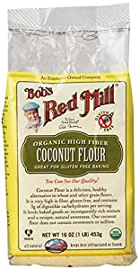 Bob's Red Mill, Coconut Flour, Organic, 16 oz