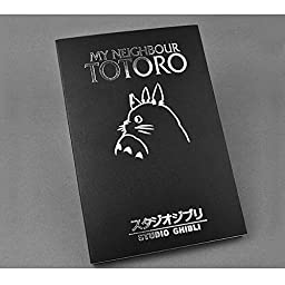 TL My Neighbour Totoro Notebook Black Notebook Cover Cosplay Notebook Diary Planner Journal Book Agenda Notebook Notepad for Collection
