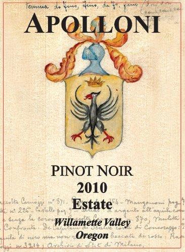 2010 Apolloni Willamette Valley Estate Pinot Noir 750 Ml