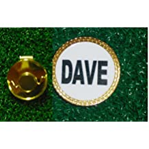 Gatormade Personalized Golf Ball Marker Hat Clip Dave