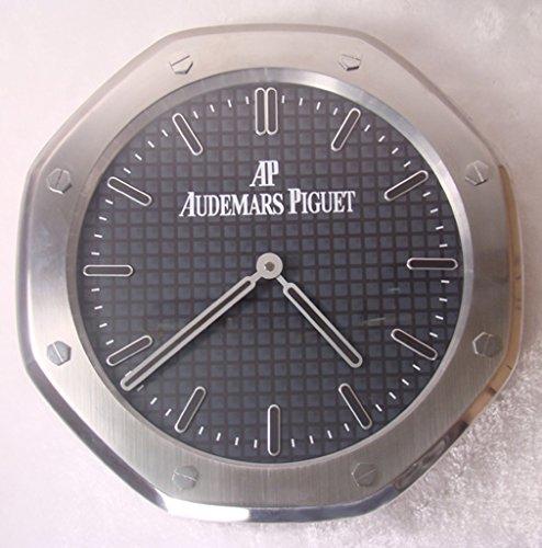 audemars-piguet-sweep-silencieux-horloge-murale-argent-noir