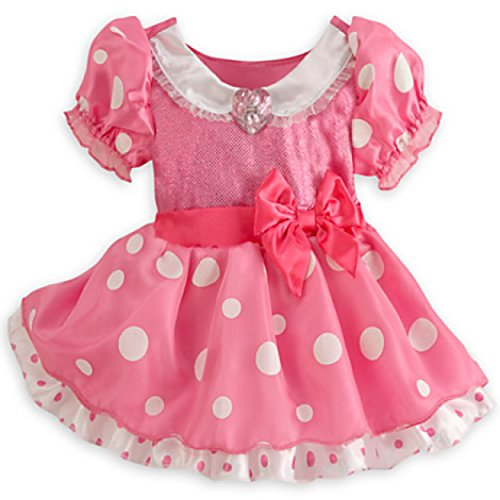 Disney Store Baby Pink Minnie Mouse Costume with Headband