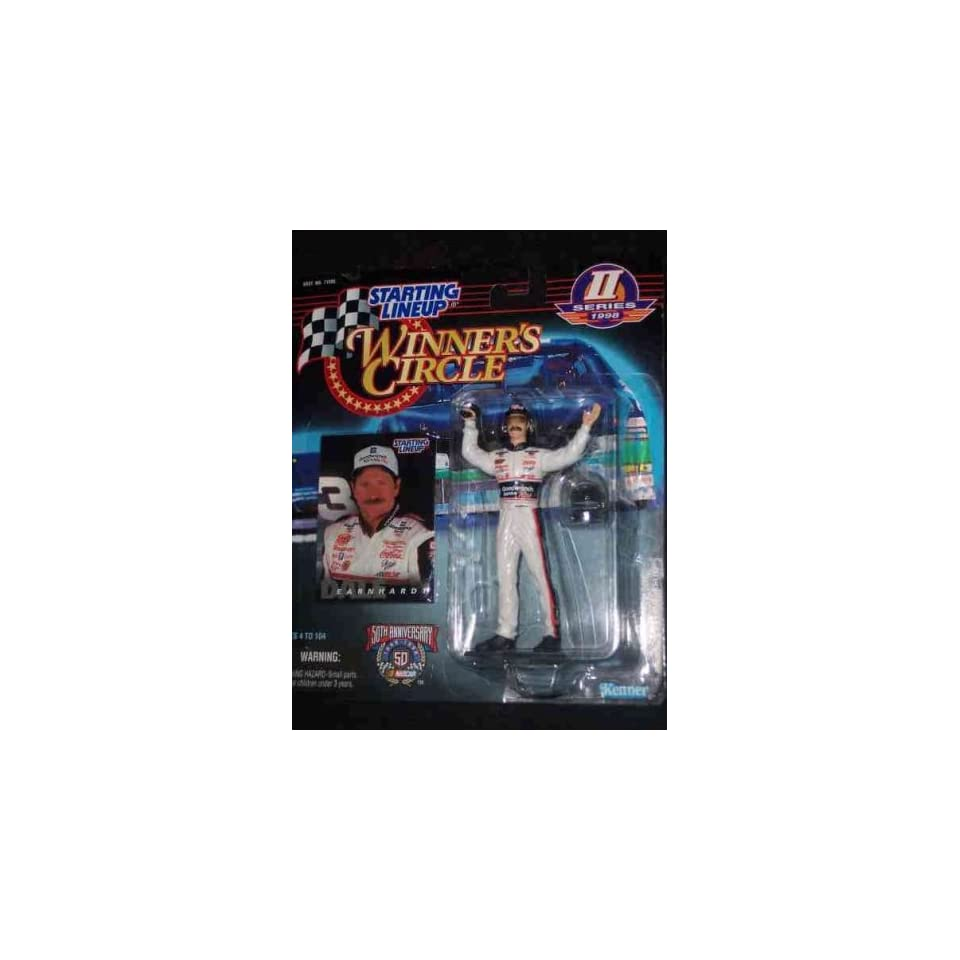 Dale Earnhardt Series 2 New Card 1998 Nascar Kenner Starting Lineup Collectible Collector Car