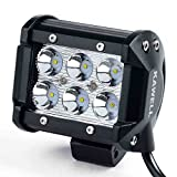 KAWELL®   高輝度18W CREE製 LED 作業灯 狭角タイプ  1260 LM 6000K