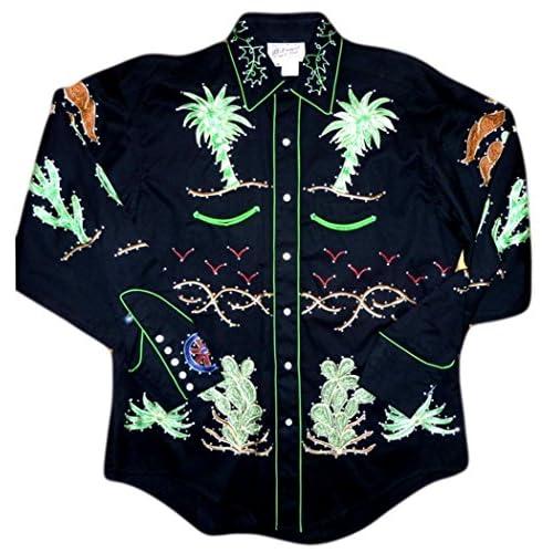 Rockmount Mens Porter Wagoner Vintage Country Western Shirt