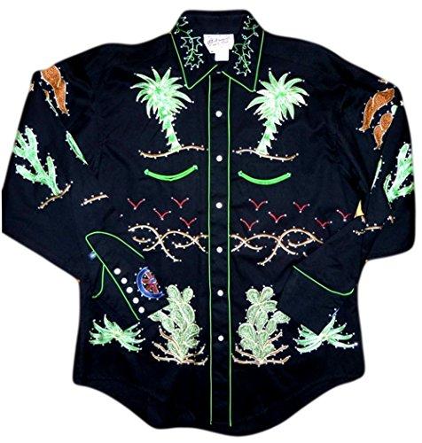 Rockmount Mens Porter Wagoner Vintage Country Western Shirt 0