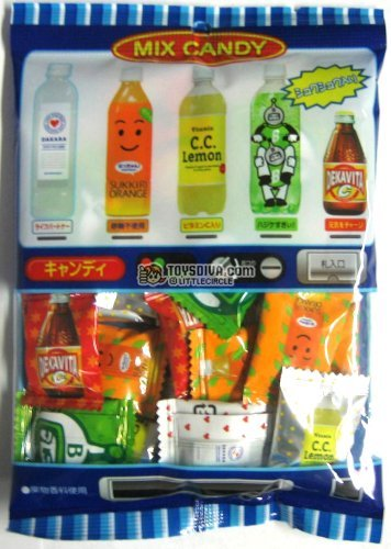 Lotte Mixed Soda Japanese Hard Candy