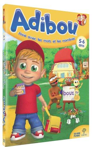Adibou joue avec les mots et les nombres 5-6 ans (vf - French software)