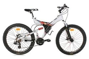 VTT tout suspendu 26'' G-Acid argent TC 50 cm KS Cycling