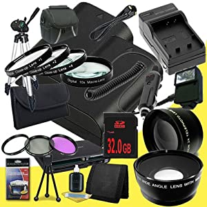 Two Canon EOS 70D DSLR Camera with 18-135mm STM f/3.5-5.6 Lens LP-E6 Lithium Ion Replacement Battery and External Rapid Charger + 32GB SDHC Class 10 Memory Card + 67mm 3 Piece Filter Kit + Full Size Tripod + 67mm Macro Close Up Kit + 67mm 2x Telephoto Lens + 67mm Wide Angle Lens + Carrying Case + External Flash + Mini HDMI Cable + Multi Card USB Reader + Memory Card Wallet + Deluxe Starter Kit  DavisMAX Accessory Bundle