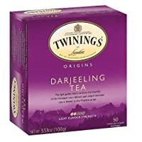 Twinings Origin Darjeeling Tea 50 Count, Set of 2