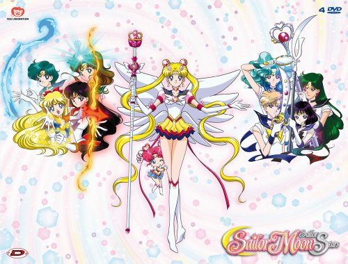 Sailor Moon - Sailor Stars Box #01 (Eps 167-183) (4 Dvd)