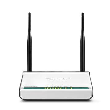 Tenda W308R - Router (100, 1000 Mbit/s, 10/100Base-T(X), 802.11b, 802.11g, 802.11n, 11, 54, 150, 300 Mbit/s, DSSS, OFDM, Ethernet (RJ-45)) Negro, Color blanco