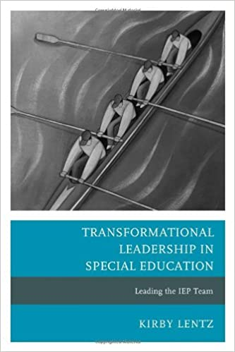 Book cover: transformational leadership in special education