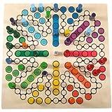Brettspiel Raus mit Dir (8 Spieler)Holz Hess-Spielzeug 14849