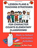 img - for Lesson Plans & Teaching Strategies For Character Counts Elementary Classrooms book / textbook / text book