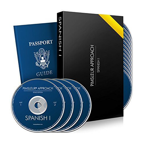 Pimsleur Approach Spanish Level 1: 30 Lessons - 16 Audio Cds - Learn Spanish for Travel, Work, or Family Using This Spanish Language Learning Course. Gold Edition I By Dr Paul Pimsleur - Method w/ Superb Review By PBS & Forbes
