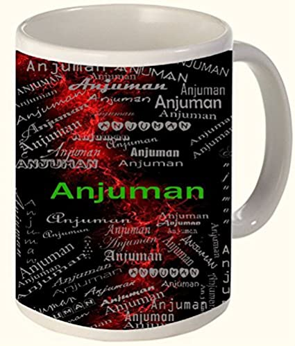 Anjuman-(A-Party-Place-(Mehfil))-Printed-All-over-Personalized!!-Fun-Coffee-12-OZ.-Mug.-Microwave-and-dishwasher-safe.