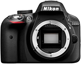 """Nikon D3300 - Cámara réflex digital de 24.2 Mp (pantalla 3"""", vídeo Full HD), color negro - sólo cuerpo [importado]"""