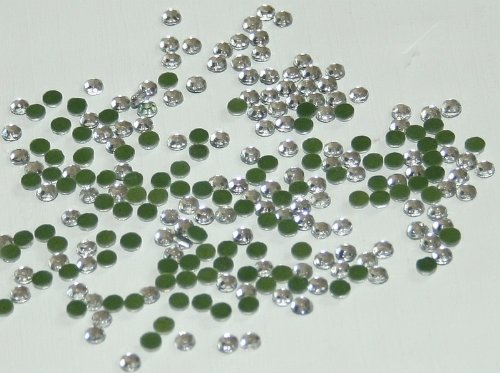 New Threadsrus 5700 Hot Fix Rhinestone Crystals - Clear Diamond Color - 6 sixes