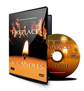 Fireplace DVD - Fireplaces & Candles with Christmas Music and Burning Wood Sounds by Isis Asia Ltd