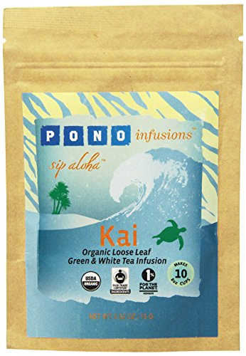 Ponoinfusions Kai Green And White Tea Infusion, 0.52 Ounce